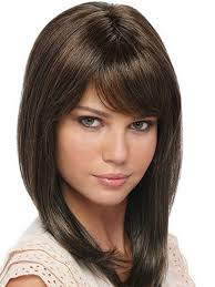 short haircuts round face hair style and color for woman