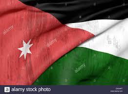 Flag Jordan 3d Rendering Of An Old And Dirty Jordan Flag Stock Photo Royalty