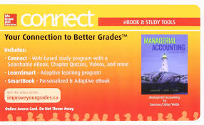 managerial accounting with connect with smartbook ppk ray h