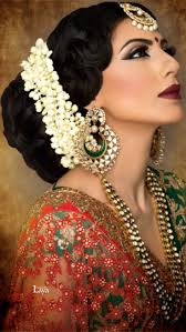 indian bridal hairstyles for long hair with flowers 2016 latest