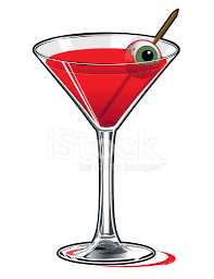 martini glass vector eyeball martini stock vector freeimages com