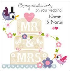 congrats wedding card wedding congratulations cards funky pigeon