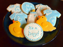 baby shower cookies baby shower cookies boy