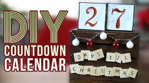 christmas countdown calendar diy christmas countdown calendar