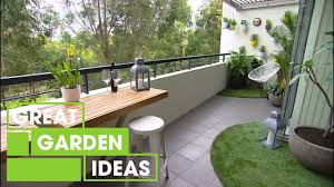 make your own balcony garden gardening great home ideas youtube