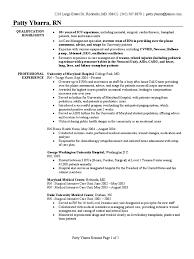 sample resume for nursing registered nurse resume sample intensive care unit nursing