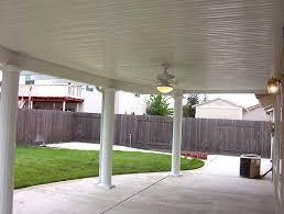 aluminum patio cover solid 12 u0027 x 20 u0027