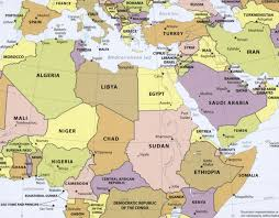 africa map physical maps rethinking the region middle east africa
