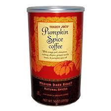 pumpkin spice for coffee amazon com trader joes pumpkin spice coffee 14 oz ground