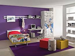 Purple Accent Wall by Composing The Kid Room Ideas In General Style Amaza Design