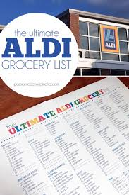 blank printable grocery list template the 25 best printable shopping list ideas on pinterest meal the ultimate aldi grocery list