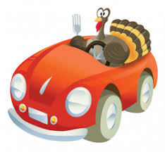 happy thanksgiving an expected decline in auto accidents on four