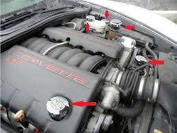 2005 corvette engine c6 corvette 2005 2013 billet chrome polished caps cover complete