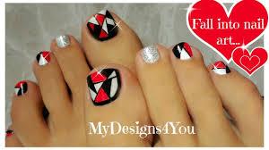 retro mosaic toenail art design youtube