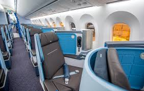 Klm Economy Comfort Klm U0027s First 787 Dreamliner Route To U S Photos Travelskills