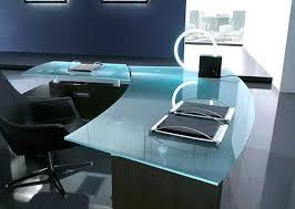 Modern Glass Executive Desk Office Desk Modern Contemporary Executive Office Desks