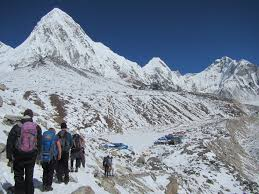 Mt Everest Map Mount Everest Base Camp Trekking In Nepal Kalapathar Trekking