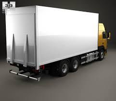 2013 volvo truck volvo fm 370 box truck 2013 3d model hum3d