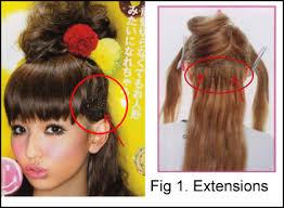how to braid extensions into your own hair xelyna the gothic lolita japanese hair extensions 101