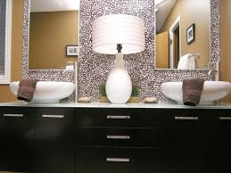 bathroom outstanding oval bathroom mirror with multisize dots