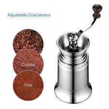 Manual Coffee Grinders Ecooe Stainless Steel Manual Burr Coffee Grinder