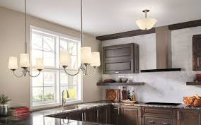 Kitchen Lighting Collections Aubrey 3 Light Chandelier Brushed Nickel Ni
