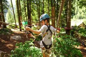 fun family attractions skytrek adventure park revelstoke bc