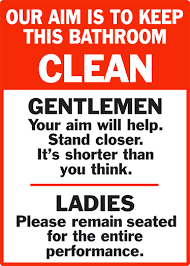 Bathroom Door Stickers Bathroom Door Sticker Tenstickers