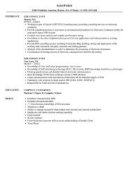 consulting resume exles edi consultant resume sles velvet
