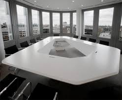 Cool Meeting Table Designed By Kinzo A Conference Table With A Dynamic Appearance