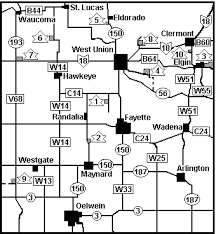fayette county maps page title