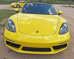 yellow porsche boxster 2017 porsche 718 boxster and boxster s test drive review the
