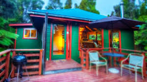 750 Sq Ft by 750 Sq Ft Tropical Rainforest Stilt Cabin In Hawaii Charming