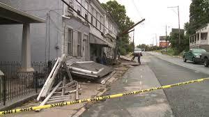 car slams into row homes in york county wpmt fox43