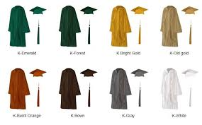 green cap and gown preschool and kindergartent caps gowns by cap gown