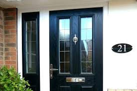Exterior Doors Uk Modern Black Front Door S Modern Black Front Doors Uk
