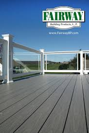 fairway standard vinyl porch deck and balcony low maintenance code