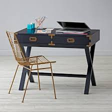 Campaign Desk Campaign Desk Midnight Blue By Land Of Nod Havenly