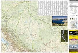 National Geographic Map Bolivia Travel Maps International Adventure Map National