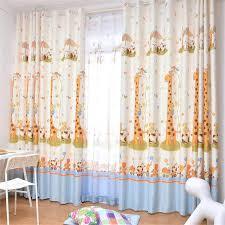 rideau chambre bébé jungle voilage chambre enfant rideau voilage 140 x 280 cm grande hauteur