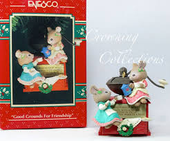 317 best enesco mouse ornaments images on mice