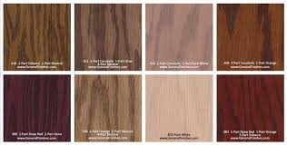 Wood Floor Finish Options Hardwood Floor Stain Color Chart Hardwood Flooring