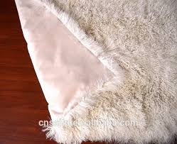 Animal Shaped Area Rugs by Hand Craft Camel Ivory Mongolian Sheep Fur Carpet Area Rug Animal