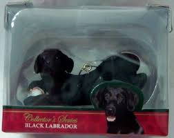american canine association black lab le ornament