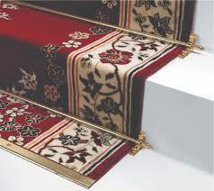 tappeto per scale asta in ottone o acciaio con ganci a cerniera per passatoia e tappeti