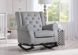Gray Rocking Chair For Nursery Baby Nursery Gliders Rocking Chairs Delta Children