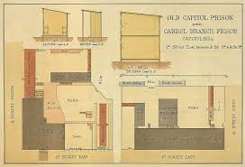 old brick capitol and the old capitol prison virtual an 1860s map provided enough information to be able to recreate the entire prison