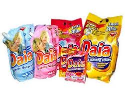 Sabun Daia jom story mory bio zip sebagai sabun pencuci kain