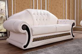 Leather Sofa Sets Divani Casa Suzanne Classic Cream Leather Sofa Set