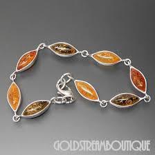 gold amber bracelet images Poland sterling silver multicolored marquise baltic amber bracelet JPG